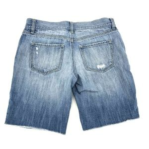 Ann Taylor Shorts - Ann Taylor Loft Cut Off Bermuda Jean Shorts Sz 27